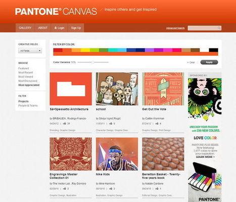 Pantone lance le PANTONE Canvas en partenariat avec Behance   SPIP - cms, javascripts et copyleft   Scoop.it