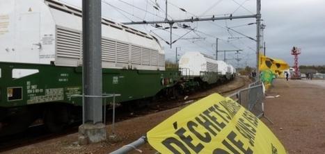 Manche : un convoi de déchets nucléaires est parti de Valognes | Actu Basse-Normandie (La Manche Libre) | Scoop.it