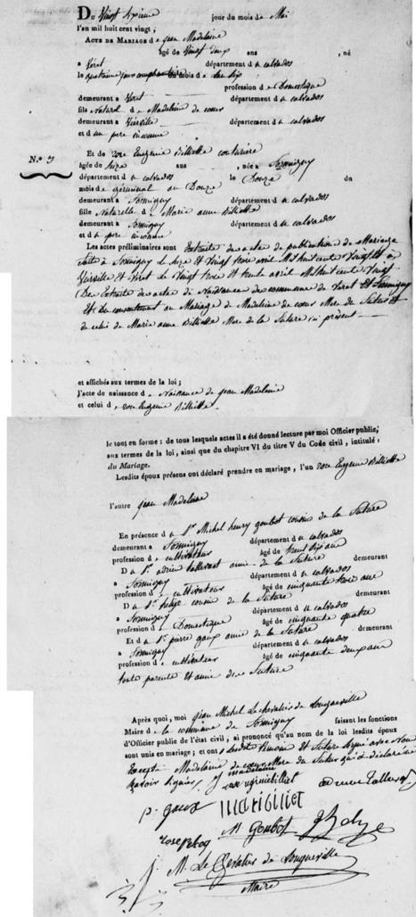 Dans les branches: 52 Ancestors : #16 Le nom de famille de Jean Madelaine | GenealoNet | Scoop.it