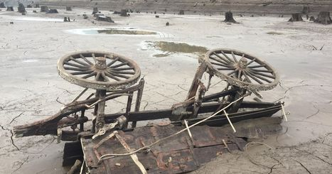 Low lake level reveals a glimpse of old town | History in Pictures | Scoop.it