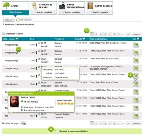 Découvrez la nouvelle page de résultats de recherches - Le Blog ... | Genéalogie | Scoop.it