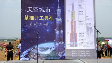 (VIDEO). Bientôt, en Chine, la nouvelle tour la plus haute du monde . | Construction l'Information | Scoop.it