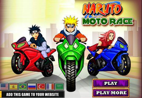 Naruto Moto Race | Racing Games | Adventures Games | Avatar Games | Scoop.it