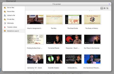 Moodle plugins -  Set: MediaCore | Moodle and Web 2.0 | Scoop.it