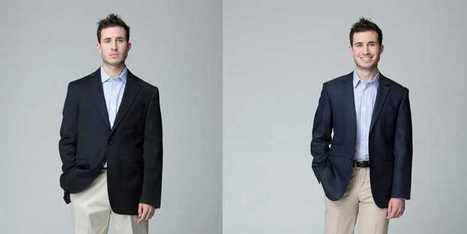 Look How Much Tailoring Can Improve Men's Clothes | Sales Impact | Scoop.it