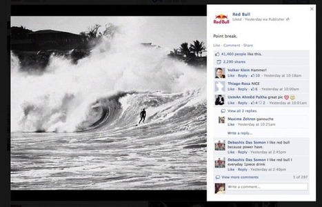 Most Engaging Facebook Posts for the Week of 11-18-2012 | Public Relations & Social Media Insight | Scoop.it