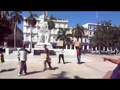Protesta en el Parque Central de La Habana   Diario de Cuba   Cuba Alan   Scoop.it