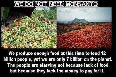 Dont Need Monsanto (pic) | Peer Specialist | Scoop.it