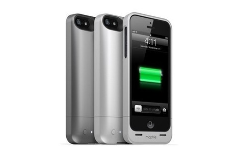 Hands on with Mophie's Juice Pack Helium for iPhone 5 - Macworld | iPhones and iThings | Scoop.it