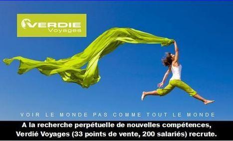 VERDIE VOYAGES - Responsable d'agence Développement Voyages à la carte H/F - CDI - (Rodez - 12)   Petites annonces   TourMaG.com, 1er journal des professionnels du tourisme francophone   tourism   Scoop.it