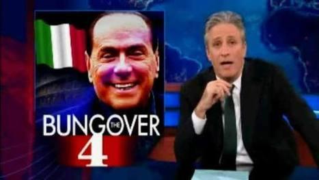 Usa, il comico Jon Stewart scatenato contro Berlusconi   Quotidiano Online!   Scoop.it