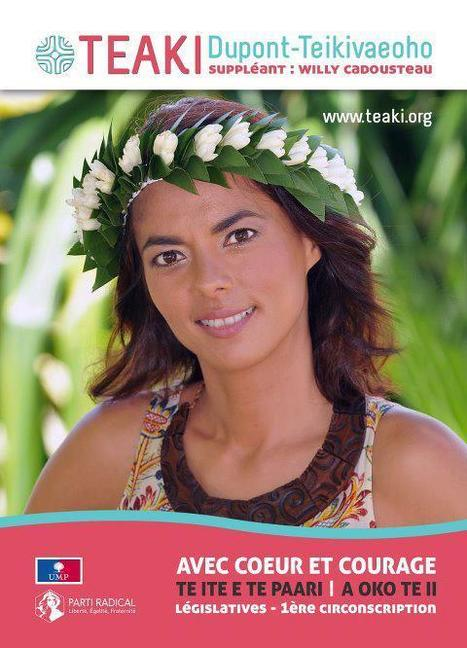 Législatives. Teaki Dupont votera blanc | Les Nouvelles de Tahiti | Pacific Mirror | Scoop.it