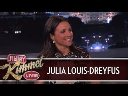 Julia Louis-Dreyfus on Jimmy Kimmel Live PART 1 | Many Topics of Endless creativity | Scoop.it