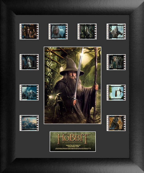 Collecting The Precious – Film Cells Ltd. The Hobbit: The Desolation of Smaug ... - TheOneRing.net   'The Hobbit' Film   Scoop.it