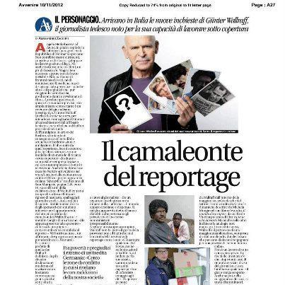 IL CAMALEONTE DEL REPORTAGE A ROMA-GUNTER WALLRAFF A PIU' LIBRI PIU' LIBERI | Siamo tutti fotografi | Scoop.it
