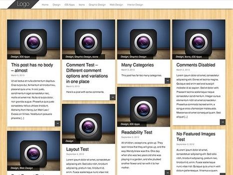 PinBin. Un thème WordPress responsive et gratuit | Les outils du Web 2.0 | Scoop.it