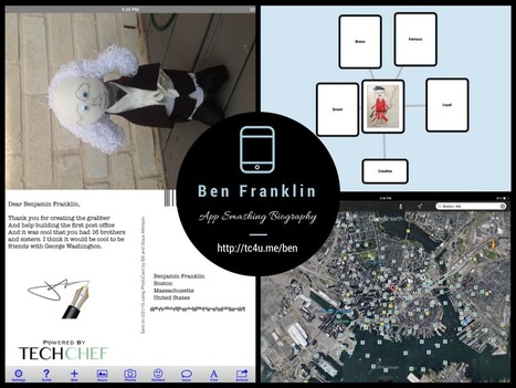 App-Smashed Benjamin Franklin Biography | iPads in the Inclusive Classroom | Scoop.it