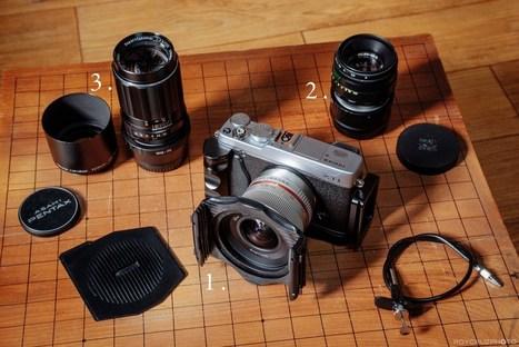 Using Manual Lenses With the Fuji X System   Fujifilm X Series APS C sensor camera   Scoop.it