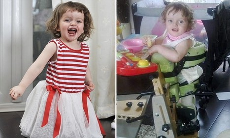 The inspiring story of a little girl refused a £25k op and now walks | This Gives Me Hope | Scoop.it