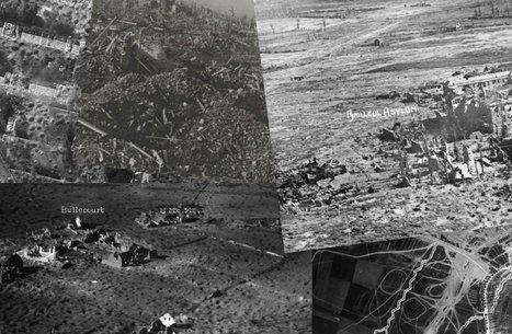 Reconstitution du front du Nord Pas-de-Calais via des photos aériennes d'archives  - France 3 Nord Pas-de-Calais | Nos Racines | Scoop.it