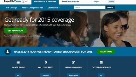 Federal, state health insurance sites brace for 2015 sign-up deadline | News You Can Use - NO PINKSLIME | Scoop.it