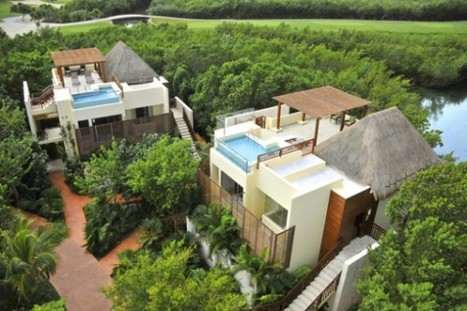 Mexico Holiday Paradise at Riviera Maya Resort | yourhomyhome.com | Modern Home Design | Scoop.it