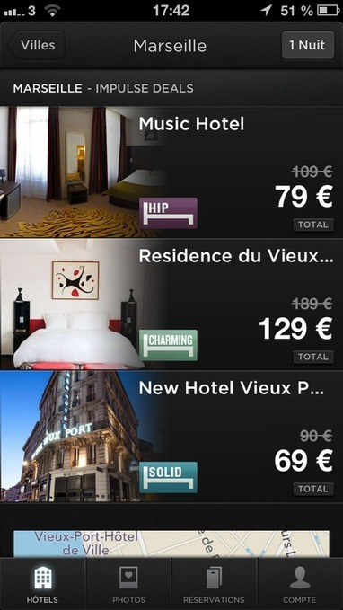 Hoteltonight offre de nouvelles destinations | Hôtels, Spa and resort | Scoop.it