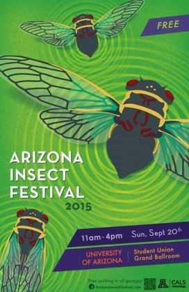 Bug festival returns to UA campus | KOLD (TV-Channel 13 Tucson) | CALS in the News | Scoop.it