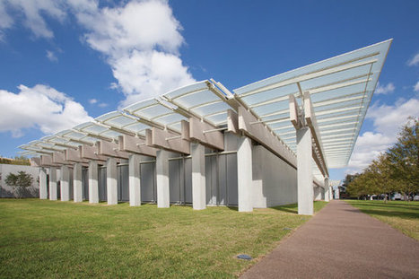The Kimbell's Stylish, Sustainable New Addition | Le flux d'Infogreen.lu | Scoop.it