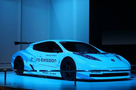 Nissan Leaf Nismo RC all-electric race car eyes-on | All Geeks | Scoop.it