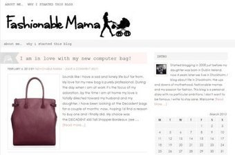 Fashionable Mama | Education, Eco and Tech Info | Scoop.it