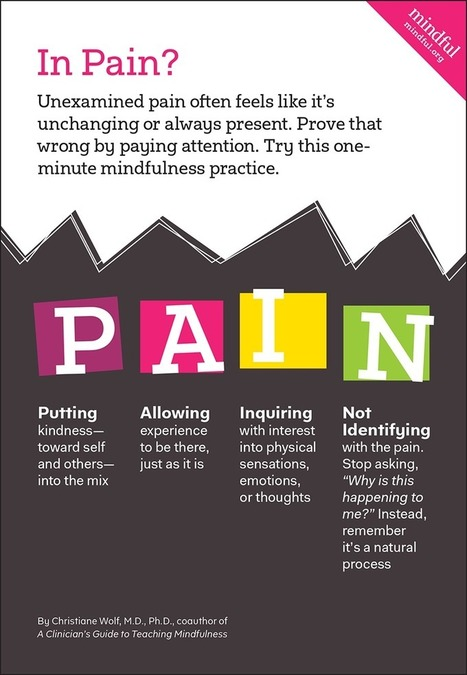 In Pain? Try This Mindfulness Exercise | Living Mindfulness & Compassion | Scoop.it