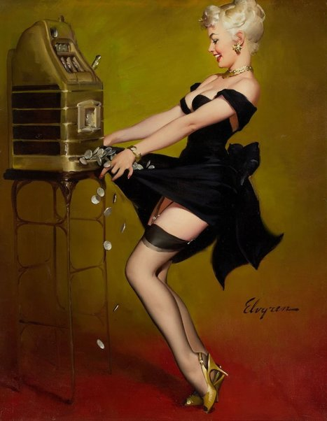 The Vintage Pin Up Girls of Gil Elvgren | VIM | Scoop.it