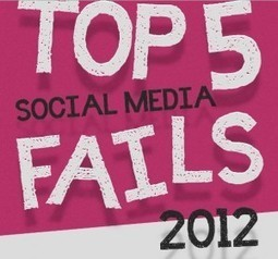 Social Media Fail 2012: le peggiori campagne di marketing dell'anno [Infografica] | SEO ADDICTED!!! | Scoop.it