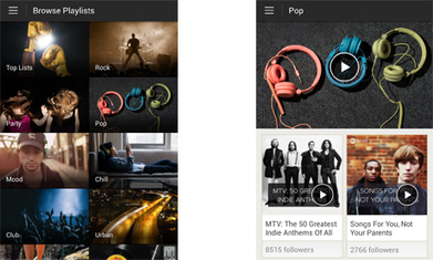 Spotify introduces Browse page to help people find streaming music playlists | Digital tools | Scoop.it