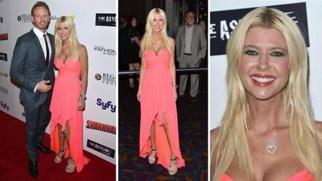 Tara Reid wears coral gown at 'Sharknado' premiere - OnTheRedCarpet.com | From the red carpet! | Scoop.it