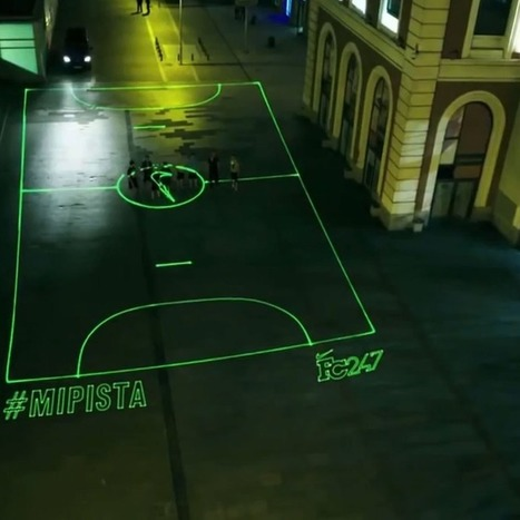 Nike Sets Up Laser Soccer Fields Across Madrid | New Product Design and Development | Scoop.it