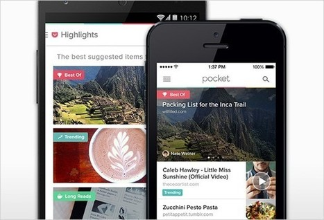 Pocket 5.0 wants to make reading what you love even easier | Marketing_me | Scoop.it