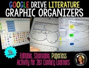 Google Drive Graphic Organizers: Reading Literature | Common Core Resources for ELA Teachers | Scoop.it