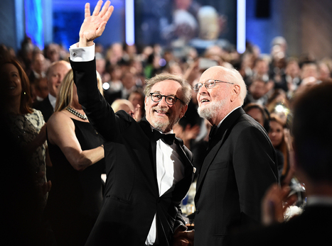 John Williams Toasted by Steven Spielberg, George Lucas at AFI Life Achievement Award Gala | Filmic | Scoop.it