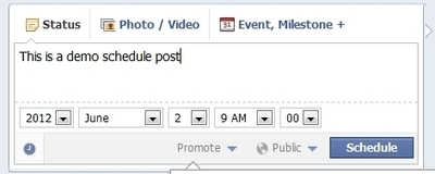 Facebook Adds Post Scheduling For Pages | Digitally yours ! | Scoop.it