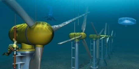 100-Foot Subsea Turbine Successfully Installed at World's First Tidal Farm Off the Coast of Scotland   Climate & Clean Air Watch   Scoop.it