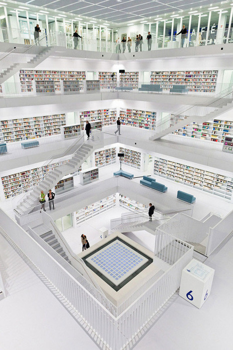 The 25 Most Beautiful Public Libraries in the World - Flavorwire | Bibliothèques et innovations | Scoop.it