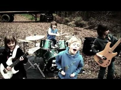 Find The Time Music Video - The Mini Band aged 8 to 10, kid band who Metallica like! | CEStout5 | Scoop.it