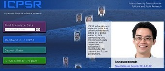 Great Online Resource: ICPSR | Knowledge Advisory Group | Monitoring capacity development | Scoop.it