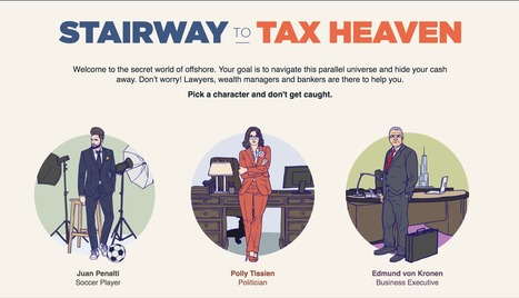 Stairway to Tax Heaven | Interactive & Immersive Journalism | Scoop.it