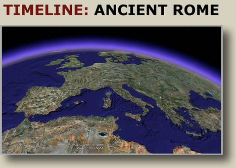 Ancient Roman History Timeline | World History in Social Studies | Scoop.it