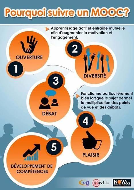 [Infographie] Pourquoi suivre un MOOC ? | Formation | Scoop.it