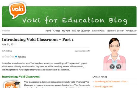 EdTech Toolbox: Introducing Voki Classroom   Vocabulary development for EFL   Scoop.it