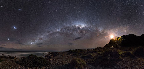 Milky Way emerges from a lighthouse in prize-winning photo - space - 19 September 2013 - New Scientist | Poppi's Astronomy | Scoop.it